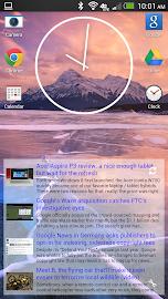 Simple RSS Widget Screenshot 1