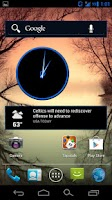 Screenshot of CM10 / AOKP: Holo Mega Blue