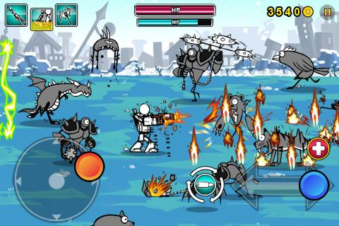 Cartoon Wars: Gunner+  screenshots 3