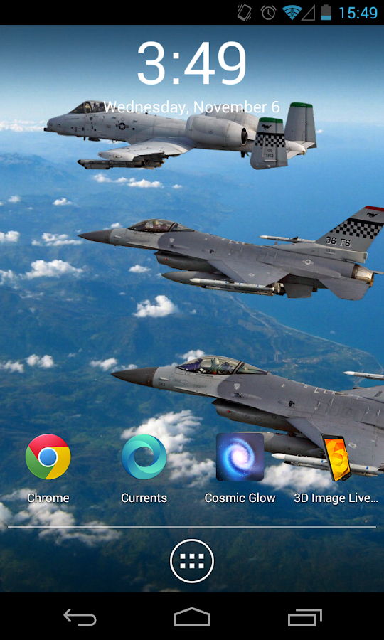 3D Image Live Wallpaper - screenshot