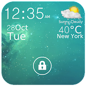 Weather Lock Screen Widget
