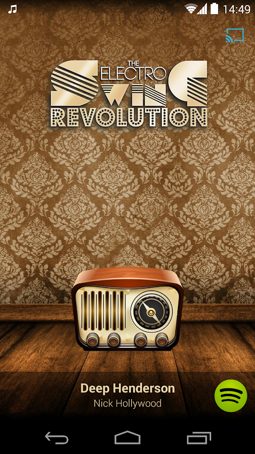 Electro Swing Revolution Radio - screenshot