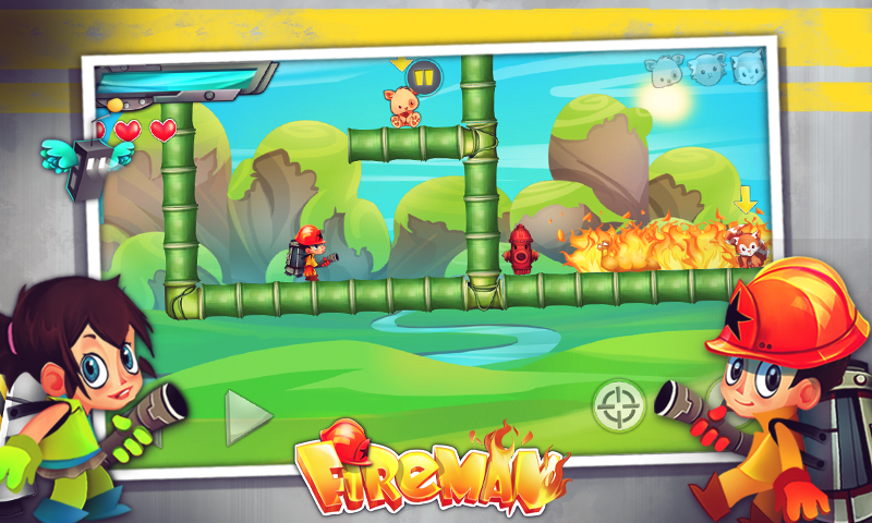 Fireman - screenshot