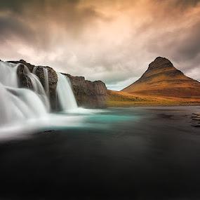 by Ennio Pozzetti - Landscapes Waterscapes ( water, kirkjufell, formatt hitech, waterfall,  )