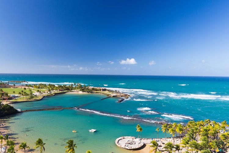 Isla Verde Beach, Puerto Rico.