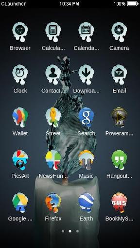 【免費攝影App】水样蜡烛--C Launcher主题-APP點子