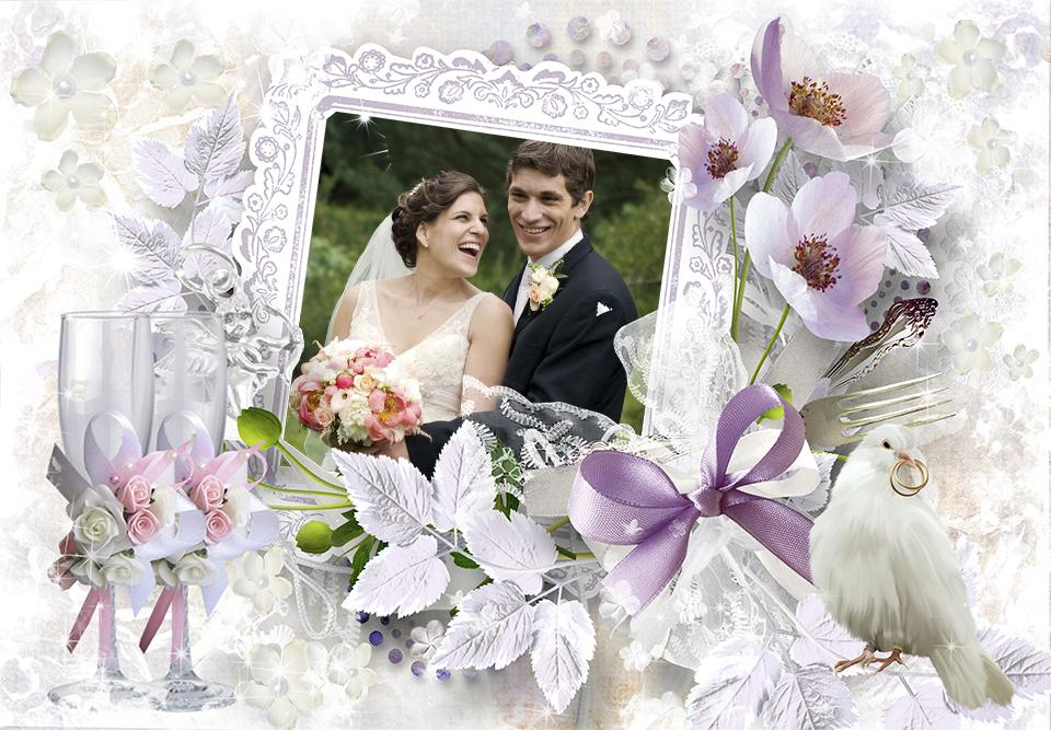 Latest Fashions Updated: Photofunia frames of marriage couple