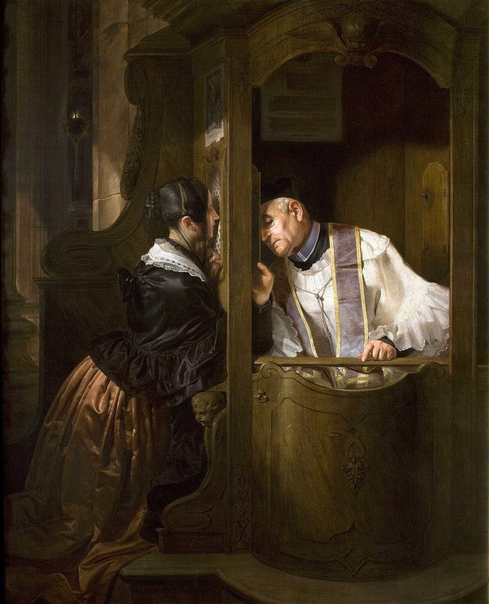 The Confession - Giuseppe Molteni — Google Arts & Culture