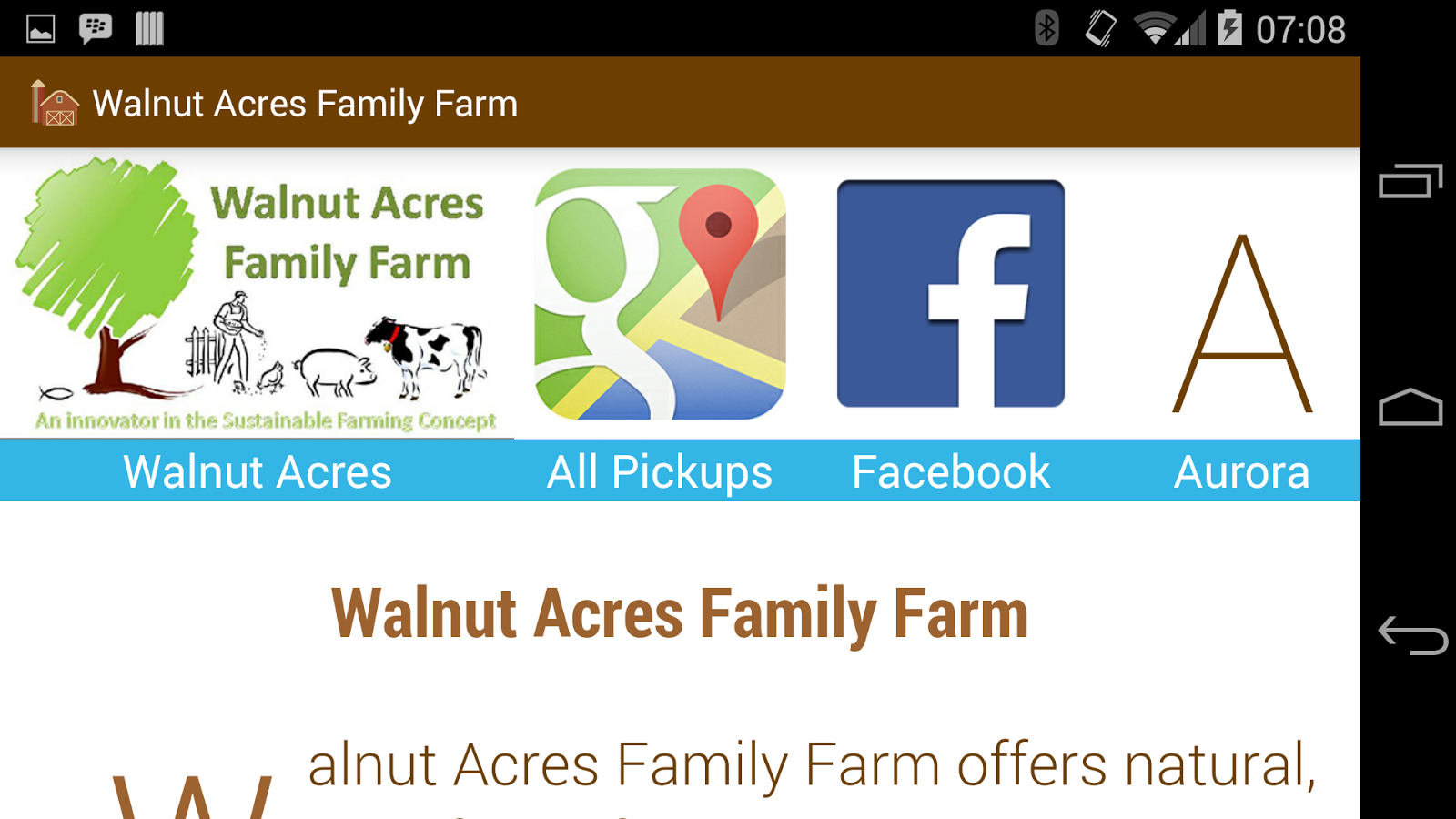 Walnut Acres Natural Foods