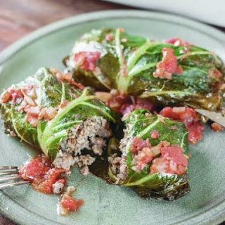 Lamb-Stuffed Collards From 'The New Southern Table'