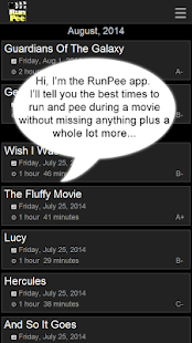 RunPee. - screenshot thumbnail