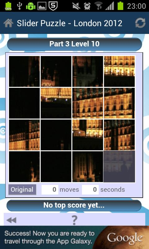 Slider Puzzle - London 2012 - screenshot