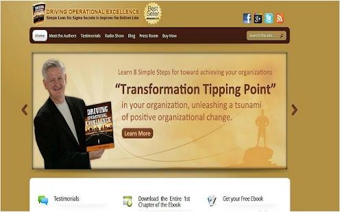 Driving Operational Excellence - screenshot thumbnail