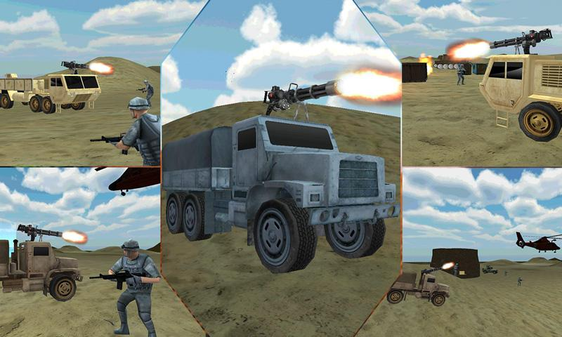 Desert-Military-Base-War-Truck 15