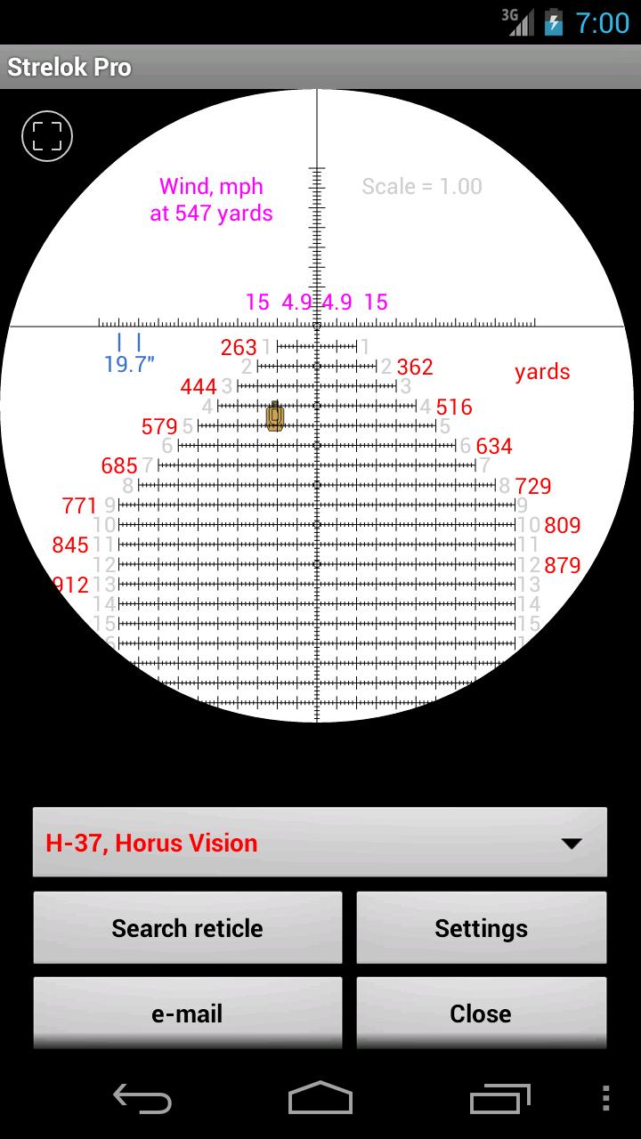 Strelok Pro Screenshot 7