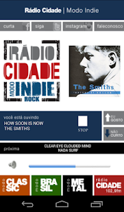 Rádio Cidade - screenshot thumbnail