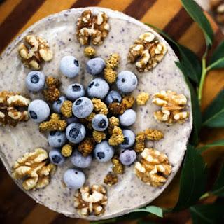Blueberry Vanilla Creme Cake [Vegan]