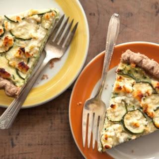 Zucchini Feta Pie.