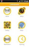 Screenshot of CafeMomo