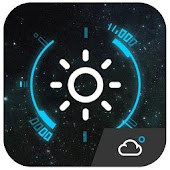 Animated Clock Weather Widget