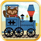 Train Games for Kids- Puzzles icon