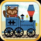 Zug-Spiele für Kinder Puzzles! icon