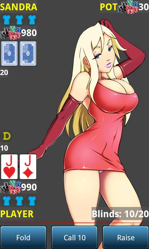 Anime Strip Poker - screenshot