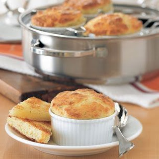 Cheese & Chive Soufflés