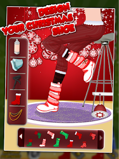 Design Your Christmas Shoe- screenshot thumbnail