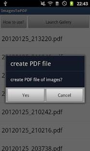 ImagesToPDF Free- screenshot thumbnail