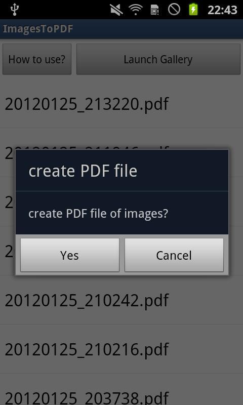 ImagesToPDF Free- screenshot