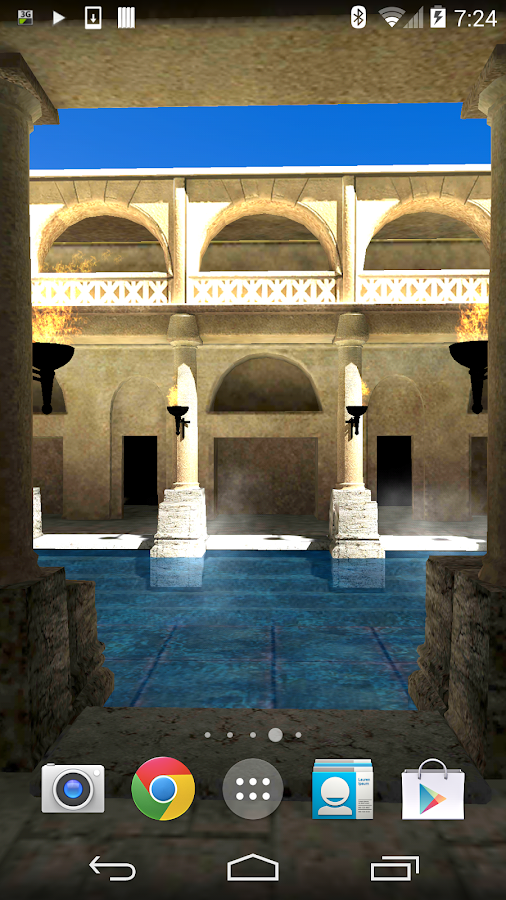 Roman Bath 3D Live Wallpaper Android Apps On Google Play