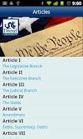 Screenshot of Drexel U.S. Constitution