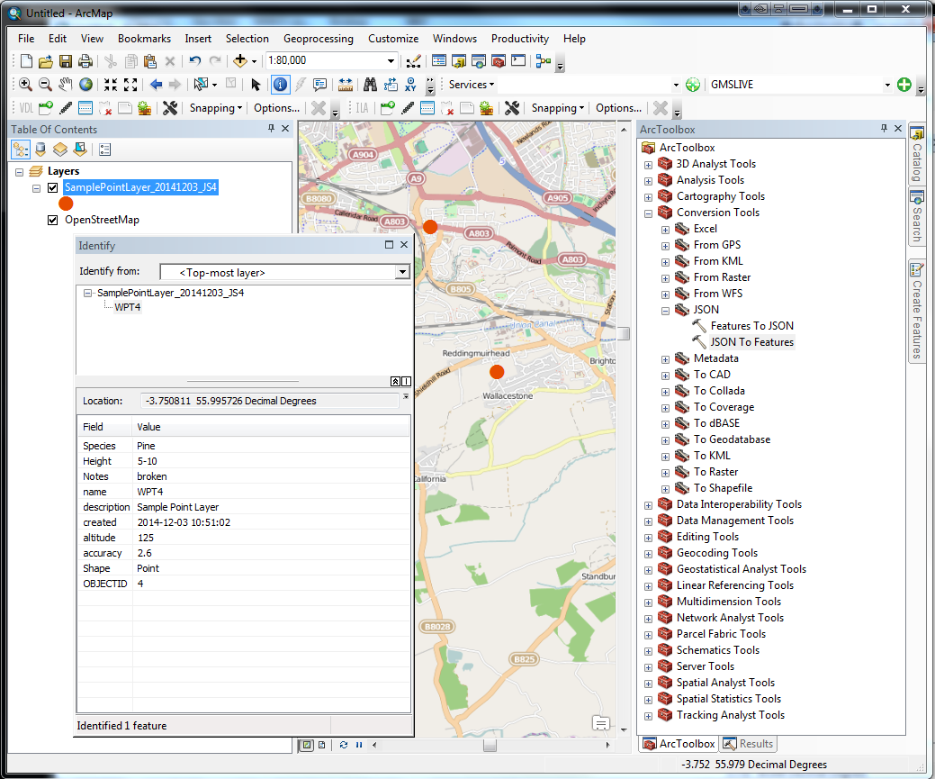 MapIt GIS - GPS Data Collector- screenshot