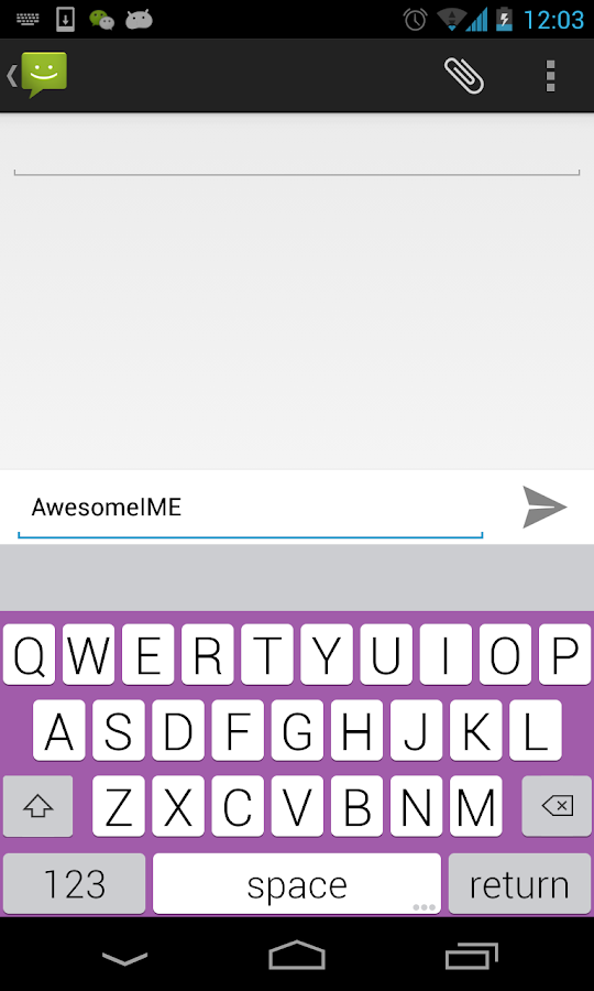 YouType - Flat Keyboard - screenshot