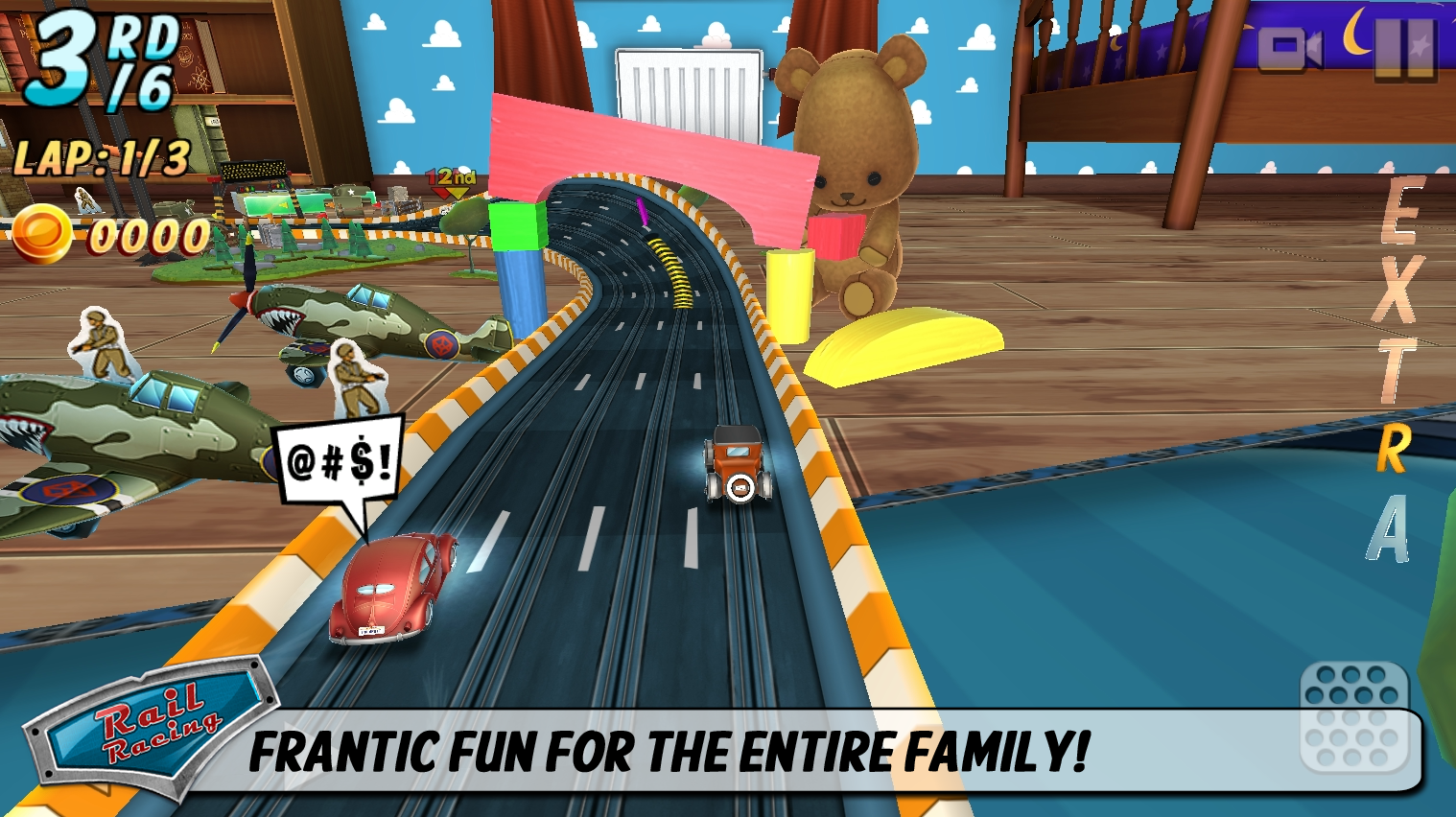Rail Racing- screenshot