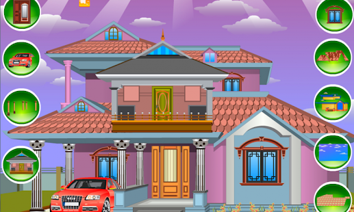 Design your house girl game android apps on google play Create your own dream home