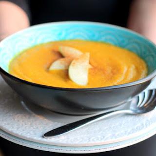 Sweet Apple Curry Butternut Squash Soup (Gluten-Free Recipe)