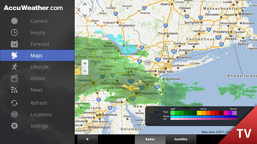 AccuWeather for Google TV 1.2.7 screenshots 3