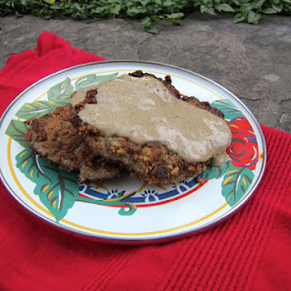 Paleo Chicken Fried Steak.