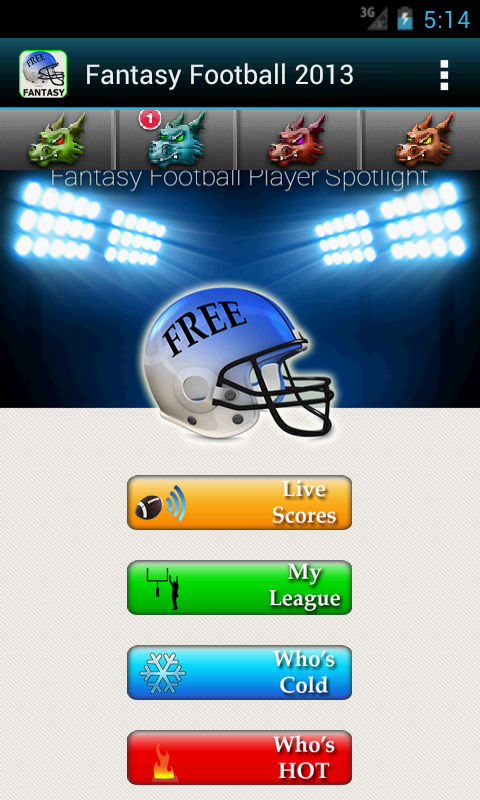 Fantasy Football 2013 HMT+ - screenshot