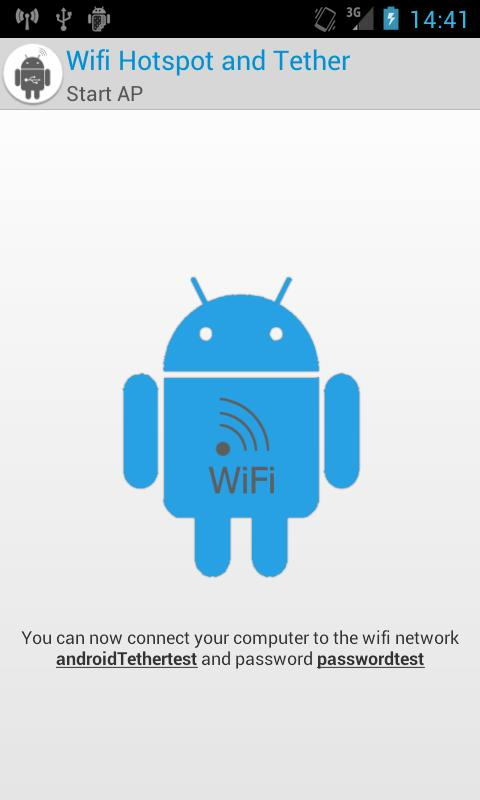Wifi Hotspot, usb tether FULL- screenshot