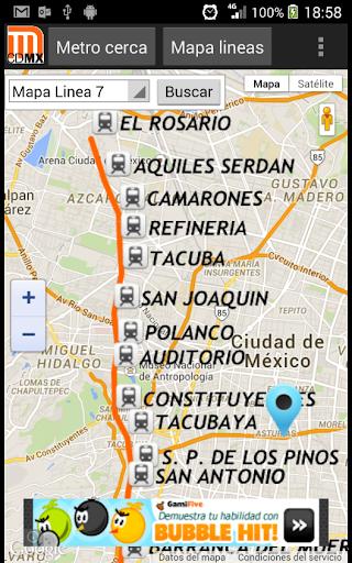 Lineas del Metro DF CDMX  screenshots 5