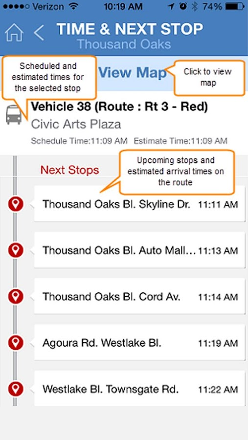 MV Transit Where's My Bus?- screenshot