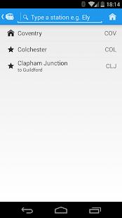 Realtime Trains - screenshot thumbnail