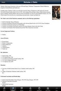 The Clekis Law Firm- screenshot thumbnail