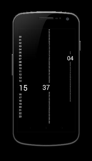 Daydream Vertical Clock