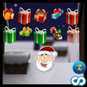 Santa Christmas Roof Hop icon