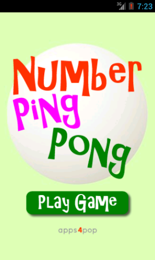 Number Ping Pong