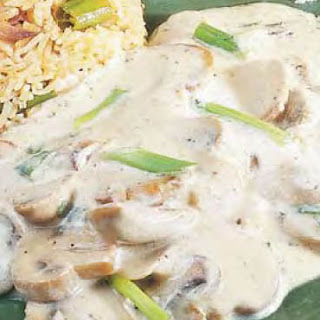 Mushrooms in Lemon Cream Sauce